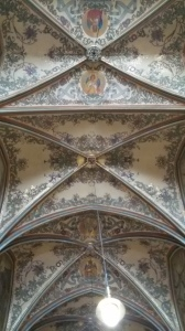 The ceiling of St. Peter and Paul Basilica