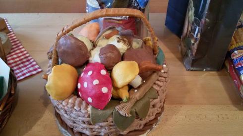 mushroom-cake